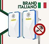 FI-DUCIA | Repellente per Insetti Ultrasuoni per Topi Antizanzare Ultrasuoni Repellente 4ª Generazione...