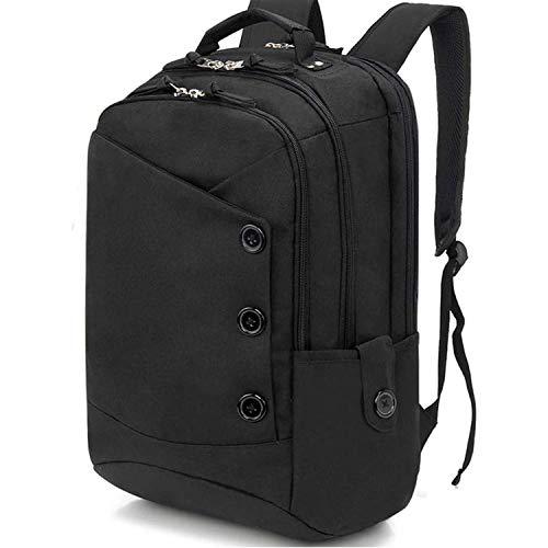 15.6 inch Laptop Backpack for Women Men College Student Computer Bag Daypack School Bag Casual Commute Bag Black