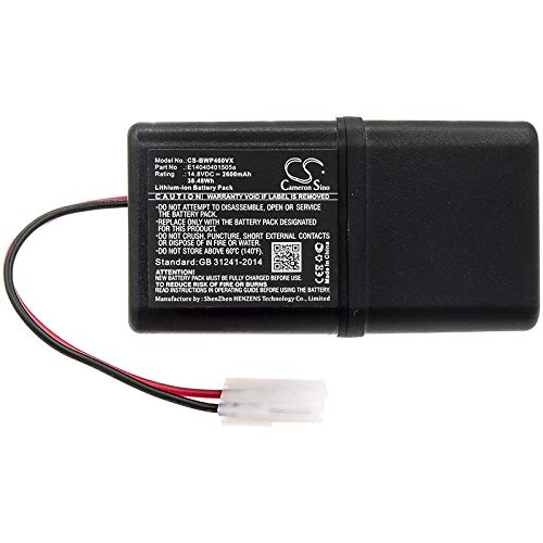 KML Replacement Battery for Bobsweep E14040401505a Bob PetHair WP460011RO Junior WJ540011