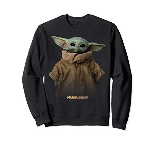 Star Wars The Mandalorian The Child Simple Portrait Sweatshirt