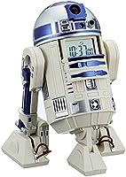 スター・ウォーズ R2-D2 目覚まし時計 音声・アクション付き 白 リズム時計 8ZDA21BZ03