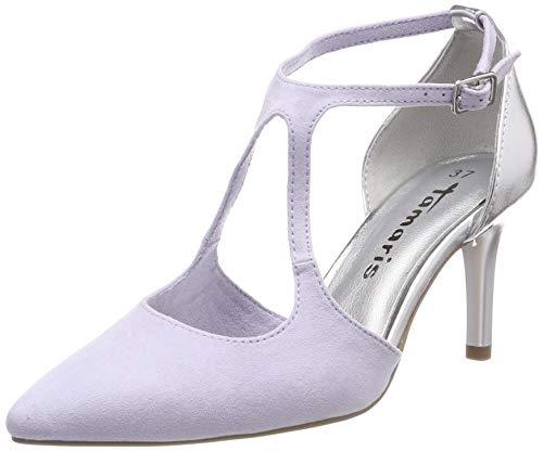 Tamaris Damen 1-1-24415-22 542 Sandalen, Violett (Lavender/Silver 542), 36 EU