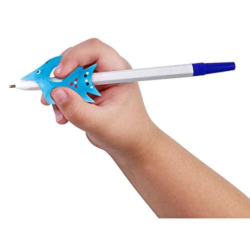 Agarre Lápiz para niños escritura que controla el ángulo de los dedos - Write-it-Right skill-trainer para diestros corrección de escritura (4851)