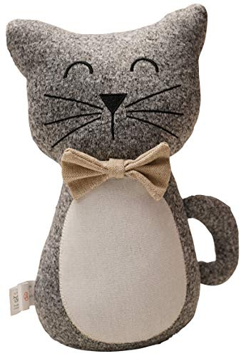 khevga - Fermaporta a forma di gatto, altezza: 28 cm