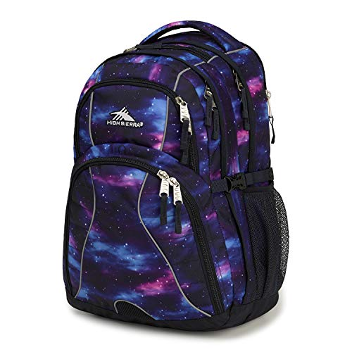 High Sierra Swerve Laptop Backpack, Cosmos/Midnight Blue, 19 x 13 x 7.75-Inch