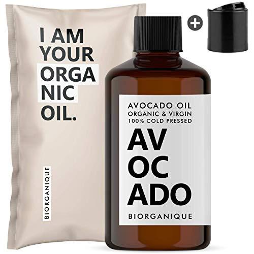 Huile d'Avocat Bio, Pure, Naturelle et Pressée à...