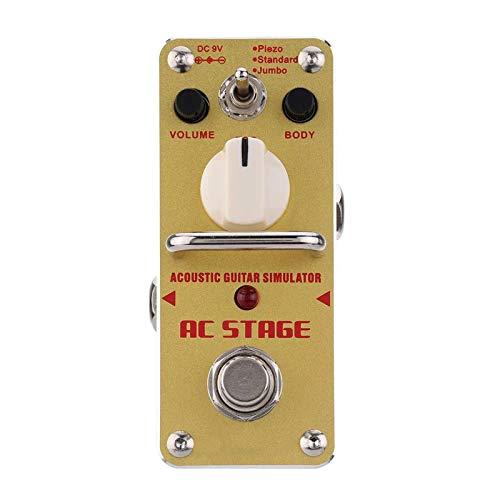 Bongba Mini-Single-Gitarren-Effektpedal Elektronische Vintage-Overdrive-Gitarre Analoges Flanger-Pedal für E-Gitarren-Bass True Bypass