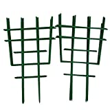 <span class='highlight'><span class='highlight'>6SHINE</span></span> Climbing Trellis 2pcs Potted DIY Home Cage Garden Mini Superimposed Net Plant Support Courtyard Balcony Flower