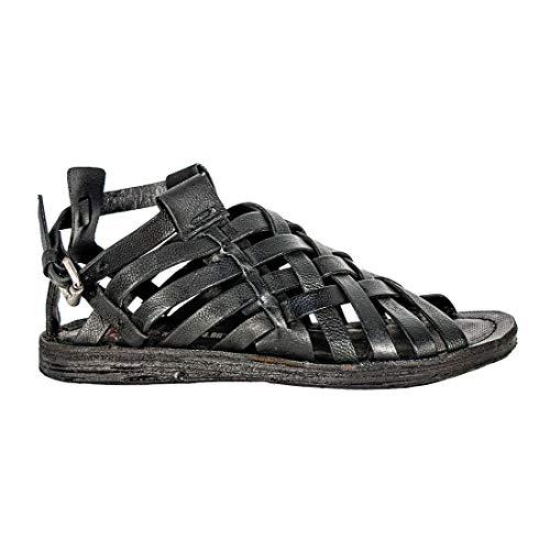 A.S.98 534076 sandalen, zwart