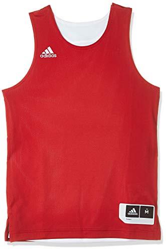 adidas CD8625 Camiseta sin Mangas, Unisex niños, Rojo (Power Red/White), 11-12