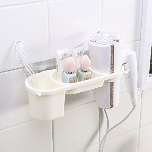 Soporte de secador de pelo mural de succión,Plataforma