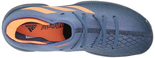 Product Image 5: adidas Phenom Tennis Shoe, Crew Navy/Screaming Orange/Crew Blue, 5 US Unisex Big Kid