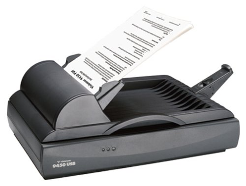 : Visioneer One Touch 9450 USB 600 DPI Flatbed ADF Color Scanner (94501D-USB)