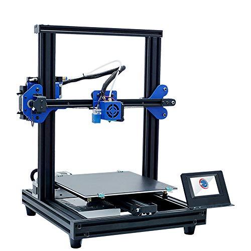 SMGPYDZYP Imprimante 3D, Imprimante 3D de Niveau Bureau Intelligent, imprimante 3D de Haute précision, Impression Hors Ligne d'écran de Couleur Tactile Intelligente