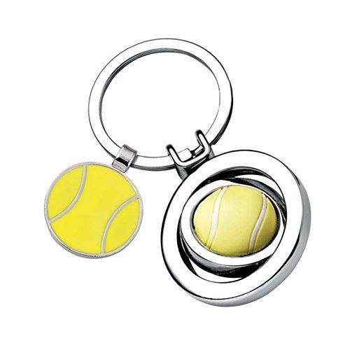 Portachiavi pallina da tennis personalizzato