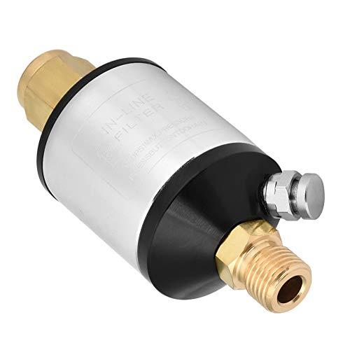 Séparateur eau/huile, filtre de conduite d'air de 1/4\