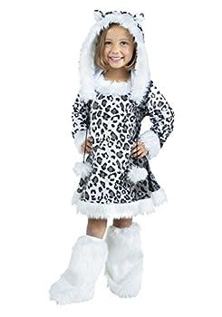 Fun World Toddler/Child Snow Leopard Costume X-Large  4-6