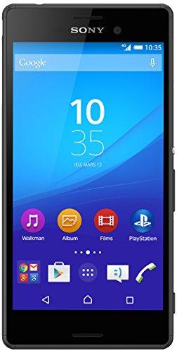 Sony Mobile Xperia M4 Aqua Smartphone 4G, entsperrt, Display: 5 Zoll / 12,7cm, 16 GB, 2-fach Nano-SIM, Android 5.0 Lollipop