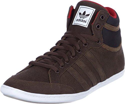 Adidas Plimcana - Zapatillas de caña Alta, Color marrón, Talla 42