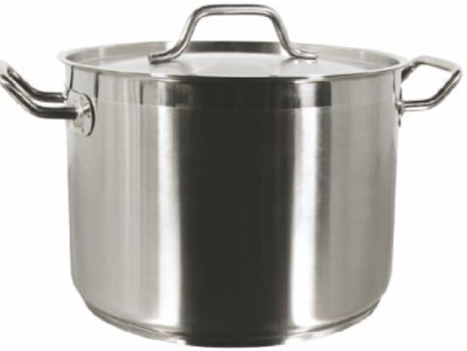 12 Qt Stock Pot W Lid Stainless Steel Commercial Grade -NSF Certified- Professional Quality