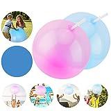 FORMIZON Bubble Ball, 2 Pezzi Palla Gonfiabile della Bolla, Bubble Ball Gigante, Bubble Ball Gigante per Esterno Giocattoli da Bagno, Bambini Adulti Festa di Estate Spiaggia (Blu porpora)