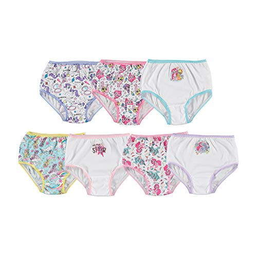 7 Pack Underwear, Toddler Girls Little Pony 4T
