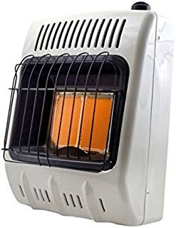 Mr. Heater Corporation F299811 Natural Gas Heater, 10000 BTU, White and Black