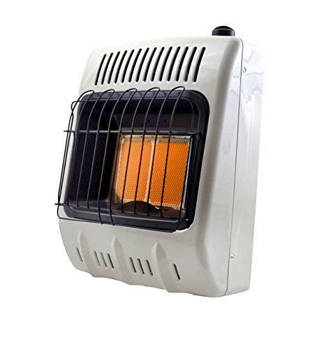 Mr. Heater Corporation Vent-Free 10,000 BTU Radiant Natural Gas Heater, 10000, Multi