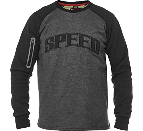 Speed and Strength Rival Shirt Men's Street Motorcycle Jackets - Grey/Black/X-Large