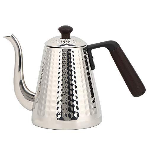 Cafetera De Acero Inoxidable, Suministros De Cocina, Caño Grande De 6,5 Cm, Tetera, Tetera, Cafetera Para Mango Para Uso Doméstico