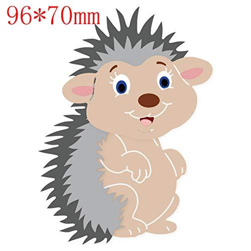 Pixiey Stanssjabloon, voor knutselen, dieren, baby's, serie, uitsparing, metaal, sjabloon voor knutselen, decoratie, schilderen, scrapbooking, reliëf, papier, kaart, handwerk