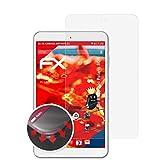atFolix Schutzfolie kompatibel mit Blaupunkt Polaris 808 Folie, entspiegelnde & Flexible FX Bildschirmschutzfolie (2X)