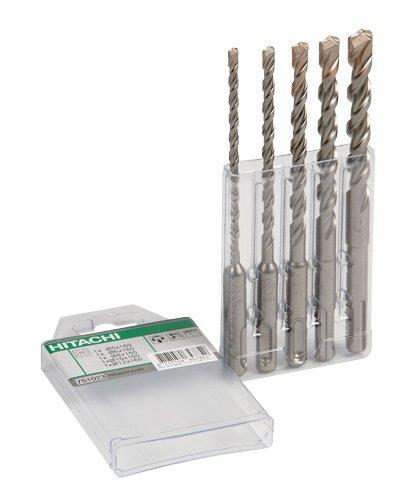 Hitachi 782531 - Bohrer (Drill, Bohrerbit-Set, 5 x 160 mm 6 x 160 mm 8 x 160 mm 10 x 160 mm 12 x 160 mm)
