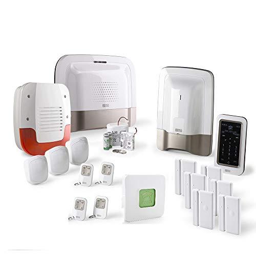 Delta Dore - Tyxal + - Pack Alarme Maison sans Fil GSM Kit 4