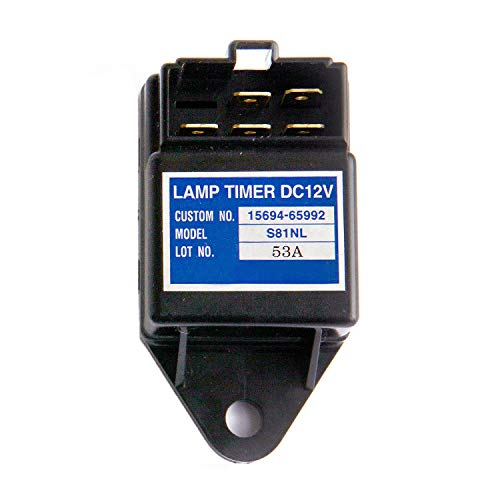 Noton parts S81N Time Relay 15694-65992 15694-65990 12V Glow Plug Lamp Timer Fits Kubota KH-101 KH-151 KH-191 KH-36 KH-41 KH-51 KH-51H D905 D1005 D1105 D1305 D1403 D1503 R310 R410 R420 R510 R520 -  none-branded