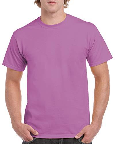 Gildan Adult 53 oz T-Shirt - HTHR RDNT ORCHID - XL - (Style # G500 - Original Label)