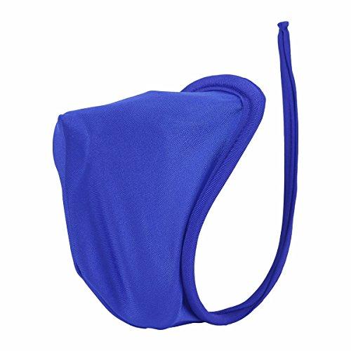 YiZYiF Reizvoll C-String Herren Männer String Tanga Micro Mini Bikini Slip Unterwäsche Erotik Dessous Lingerie Blau One Size