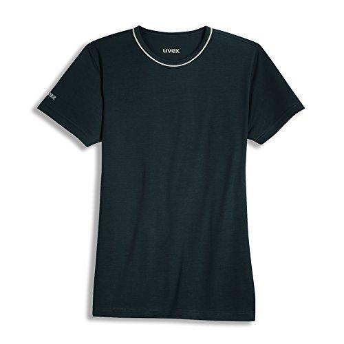 Uvex Uvex Construction Herren-Arbeits-T-Shirt - Schwarzes Männer-Arbeitshemd - aus Tencel-Gewebe XS