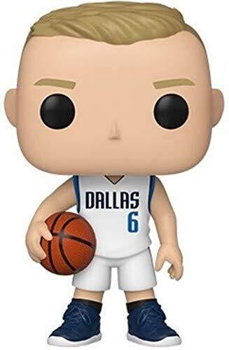 Funko - Pop! NBA: Dallas Mavericks - Kristaps Prozingis Figurina, Multicolor (44278)