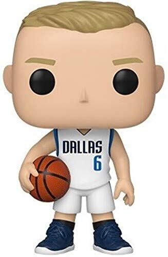Funko- Pop NBA: Dallas Mavericks-Kristaps Prozingis Figura da Collezione, Multicolore, 44278