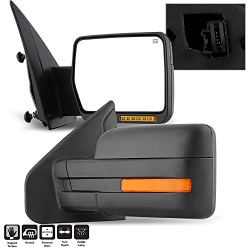 Learn More About VIPMOTOZ Heated Power Remote Driver & Passenger Side Left Right View Amber LED Turn...