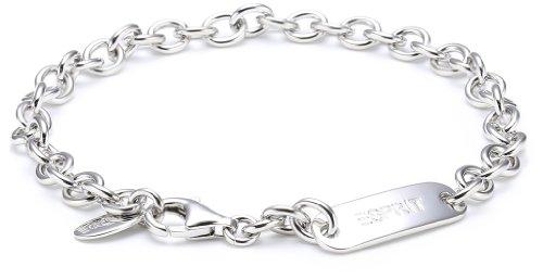 Esprit 4371801 - Pulsera de mujer de plata de ley, 19 cm