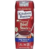 Kitchen Basics All Natural Original Beef Stock, 8.25 fl oz (Pack of 12)