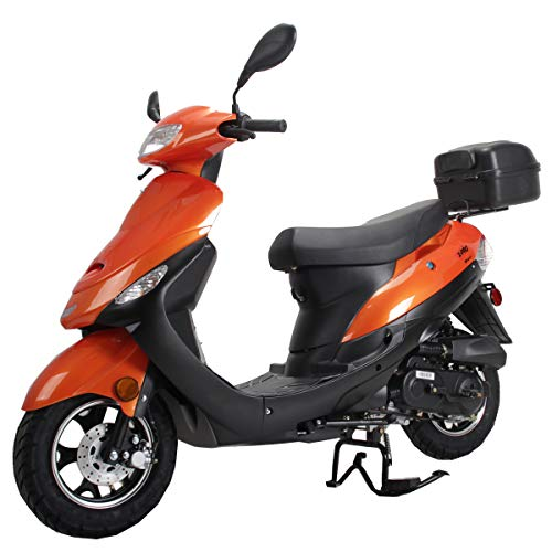 cheap X-PRO Maui 50ccm Moped Scooter Gas Moped Scooter Motorcycle 50ccm Adult Scooter Aluminum Wheels …