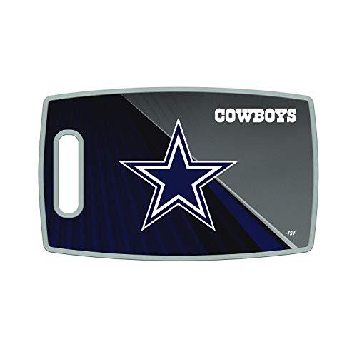 Sports Vault NFL Dallas Cowboys Large Cutting Board, 14.5  x 9