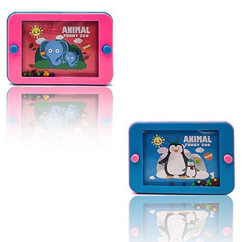 ICELAND Set 2 Pezzi Water Game Gioco d aqcua per i Bambini Forma di Tablet colorato Regalo per Bambini(C3)