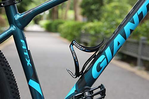 ZONKIE Flaschenhalter Fahrrad, leicht und stark Flaschenhalter, schnell und einfach zu montieren, Sehr gut geeignet Road, Mountain, Hybrid, Touring & Electric Fahrräder 30g - 4