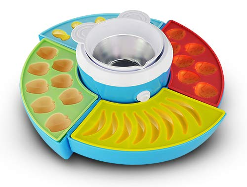 Unbekannt Camry Candy Maker Jelly Maille en Silicone, Multicolore, 26 x 10 x 25 cm