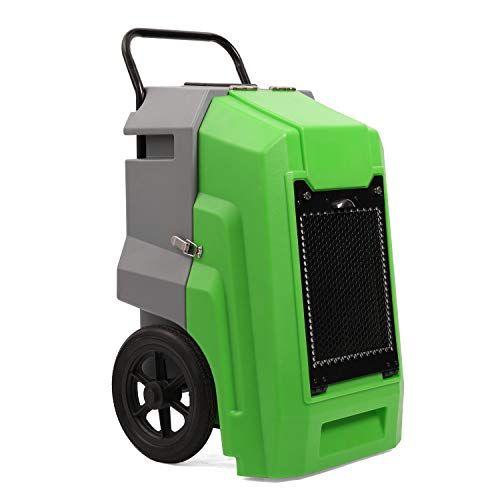 MOUNTO Commercial Dehumidifier 135 PPD, LGR Portable Dehumidifier with Pump, 2 Years Warranty, LCD Dispaly, for Clean-Up, Flood, Water Damage Restoration,Moisture