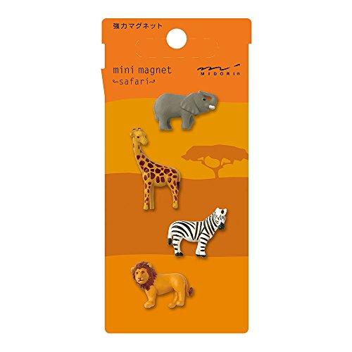 Midori Mini Magnet, Safari Animals (59755006)